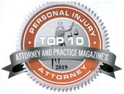 Personal Injury Atty Badge